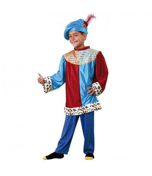 Disfraz de chico Paje