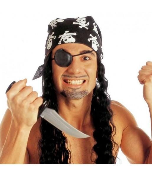 Peluca pirata corsario