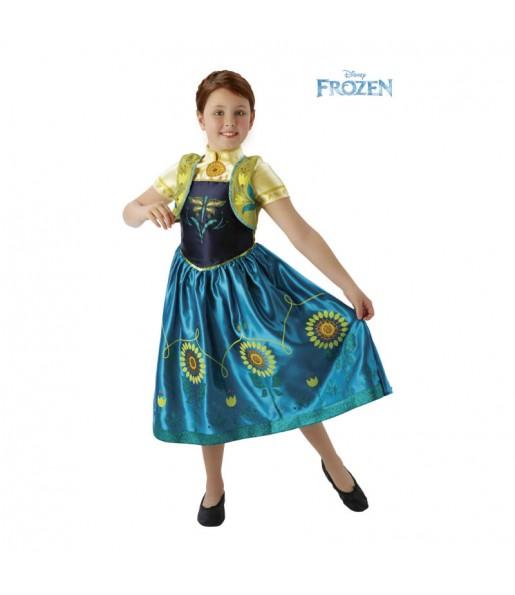 Disfraz de Anna Fever Deluxe – Disney®