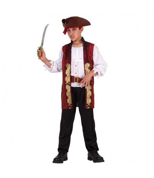 disfraz chico bucanero pirata