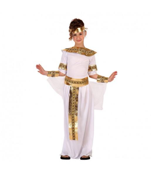 Disfraz de Egipcia Blanca infantil