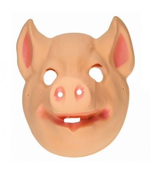 Careta de Cerdo plástico