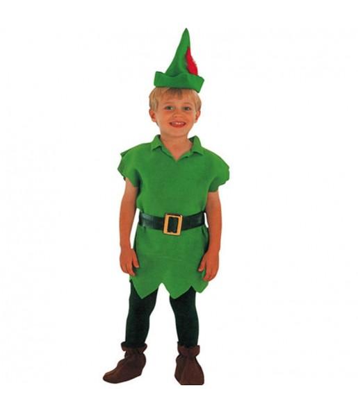 Disfraz de Peter Pan peque