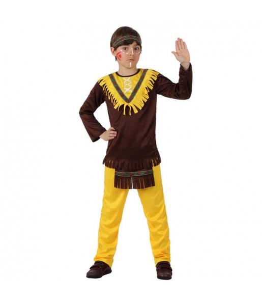 Disfraz de Indio Americano infantil