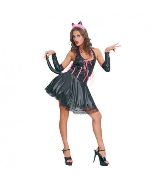 disfraz de gatita sexy negro