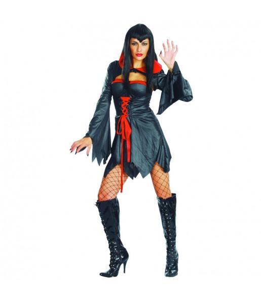 Disfraz de Vampiresa Negra