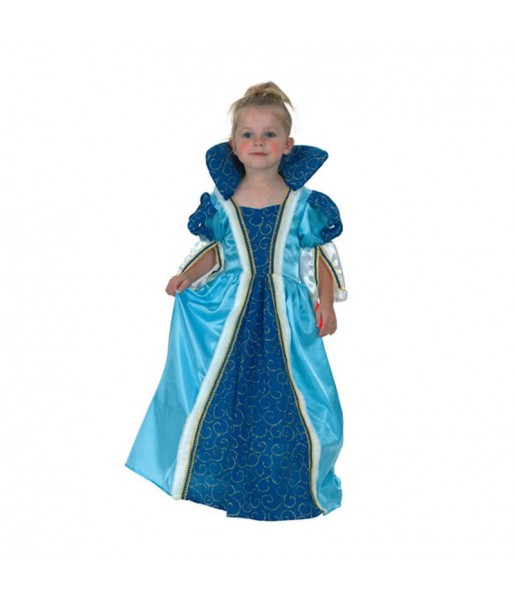 Disfraz de Princesa Azul peque