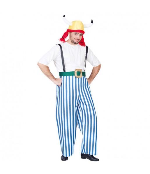 Disfraz de Obelix para adulto