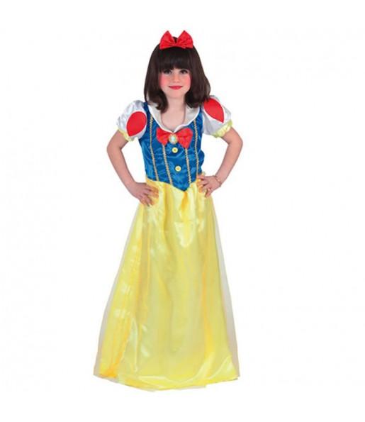 Disfraz de Blancanieves para niña