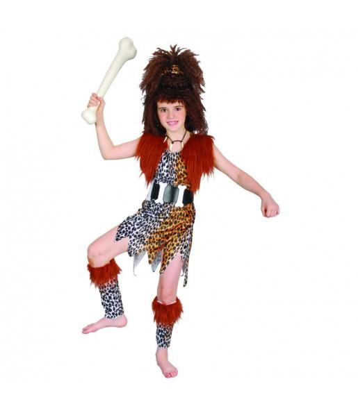 Disfraz de Cavernícola para niña