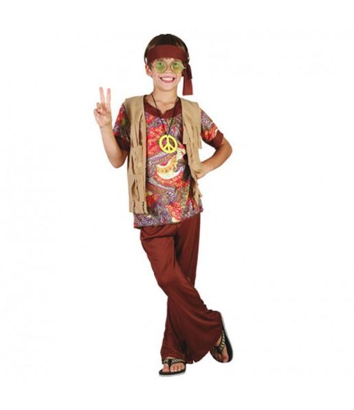 Disfraz de Hippie Estampado para niño