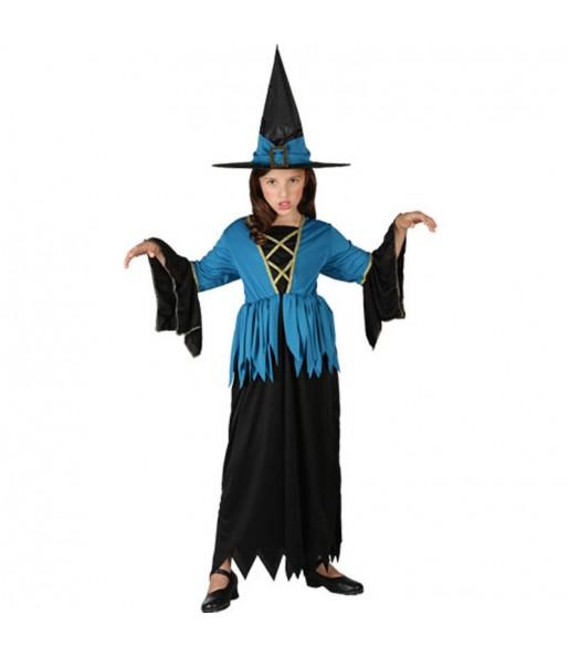 Disfraz de Bruja Azul infantil