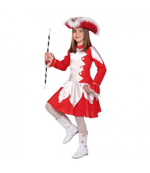 Disfraz de Majorette Roja