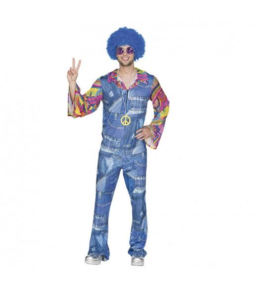 disfraz hippie vaquero hombre adulto