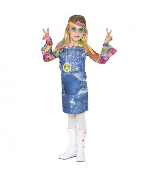 disfraz hippie vaquero niña infantil