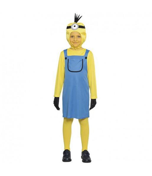 Disfraz de minion niña
