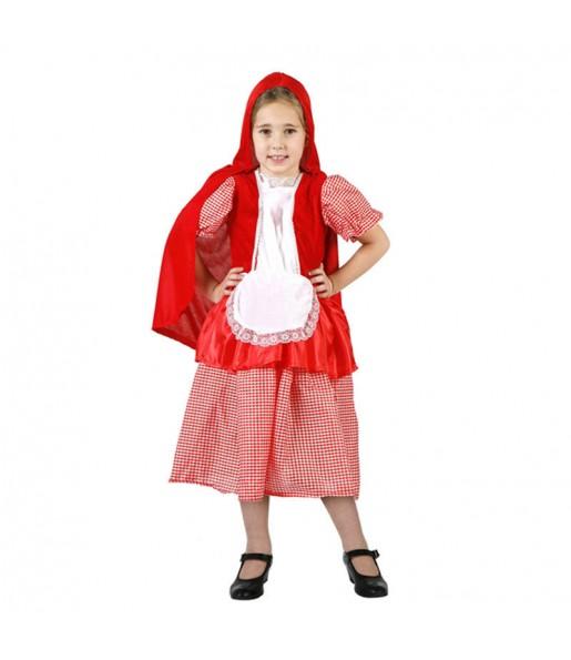 Disfraz de Caperucita Roja niña barato
