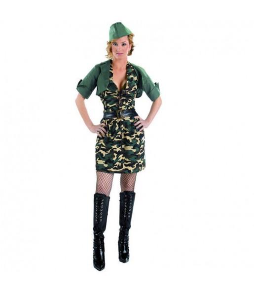 Disfraz de Militar chaqueta