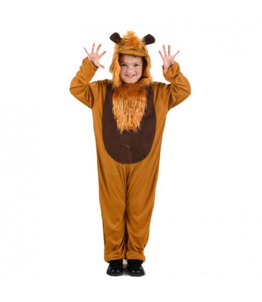 Disfraz de León Marrón infantil