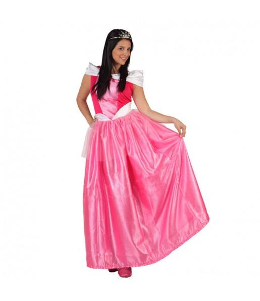 Disfraz de Princesa Rosa adulto