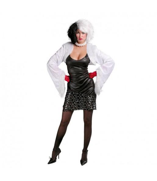 Disfraz de Cruella de Vil 101 dálmatas