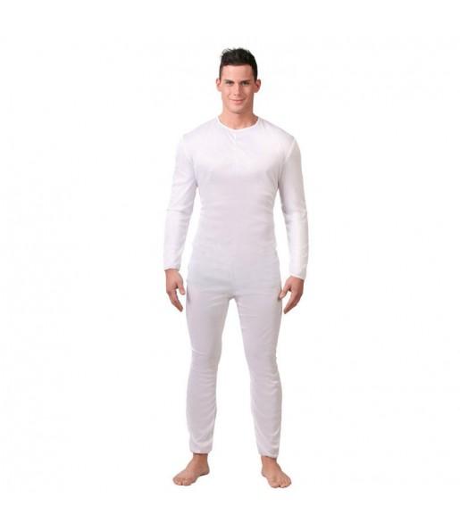 Disfraz Maillot Blanco para hombre