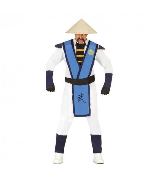 Disfraz de Raiden Mortal Kombat adulto