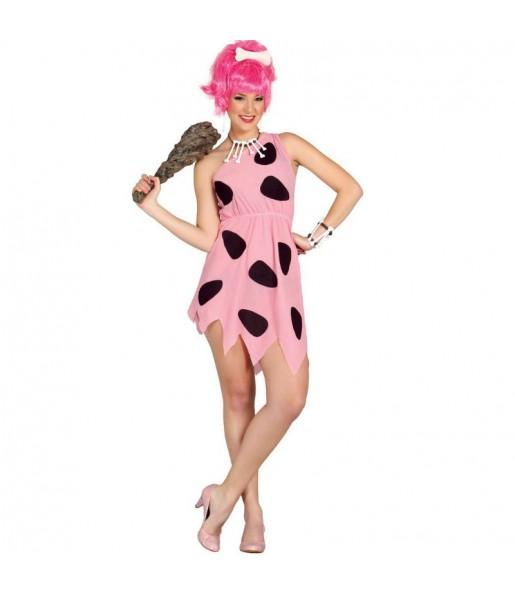 Disfraz de Pebbles Picapiedra mujer