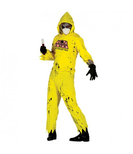 Disfraz de Zombi Radioactivo adulto