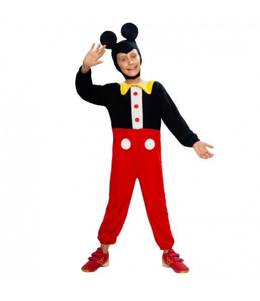 Disfraz de Ratoncito Mickey niño