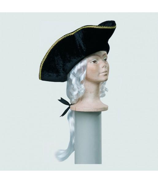 Sombrero con Peluca Época