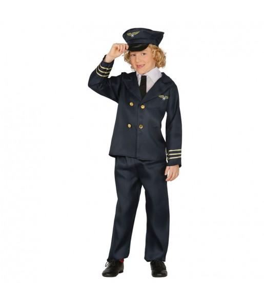 disfraz piloto vuelo infantil