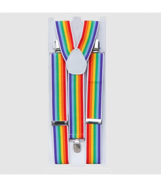 Tirantes LGTB Orgullo Gay regulables de disfraz