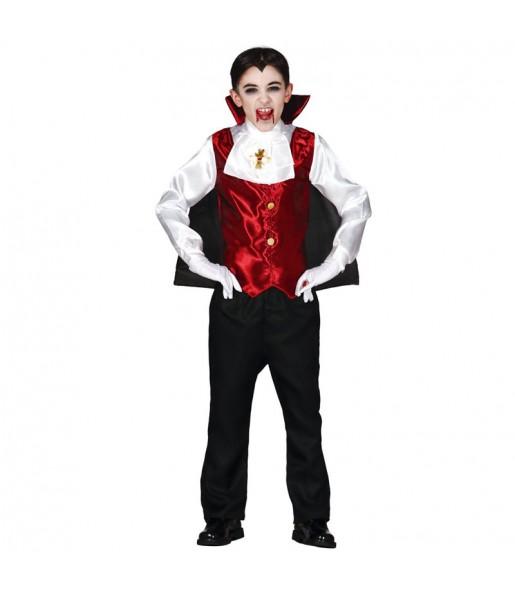 disfraz vampiro Drácula infantil
