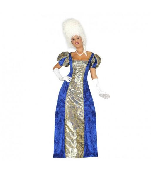 Disfraz de Marquesa Azul