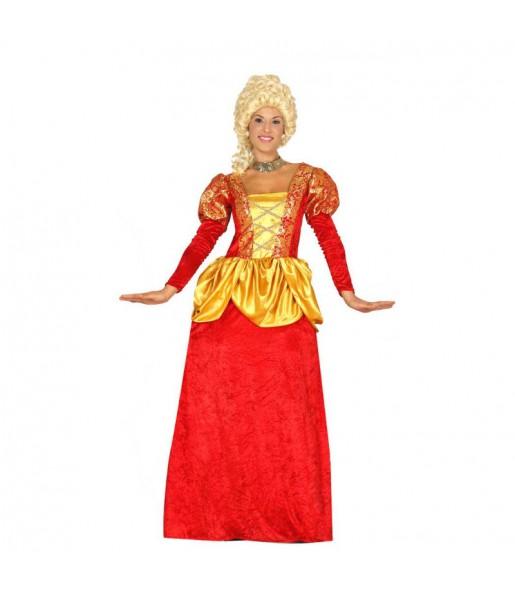 Disfraz de Marquesa Rojo