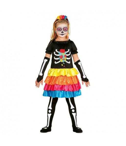 disfraz catrina infantil
