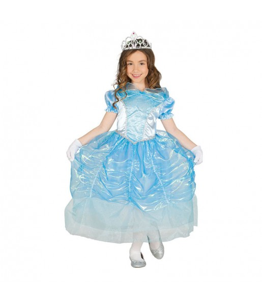 disfraz princesa azul cenicienta infantil