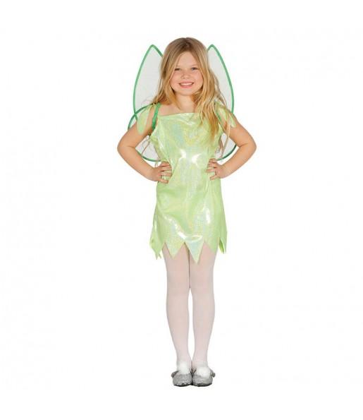 disfraz hada verde campanilla infantil