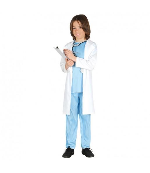 disfraz doctor médico infantil
