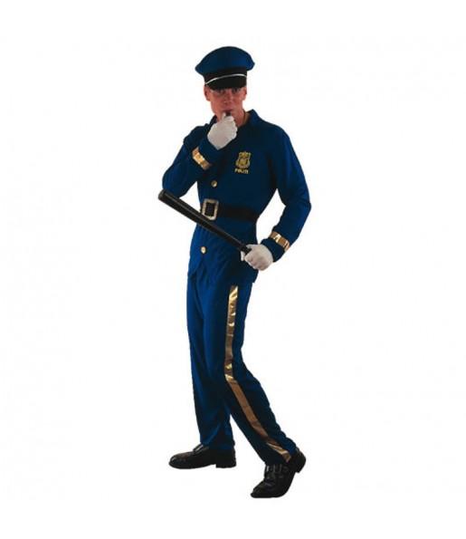 Disfraz de Policía Azul