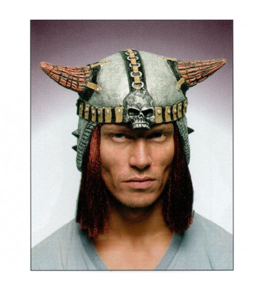 Casco Vikingo pelo