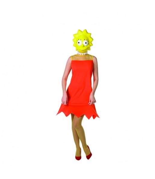 Disfraz de Lisa Simpson The Simpsons