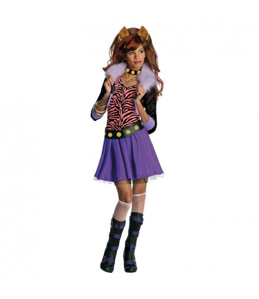 Disfraz Clawdeen Wolf Monster High para niña