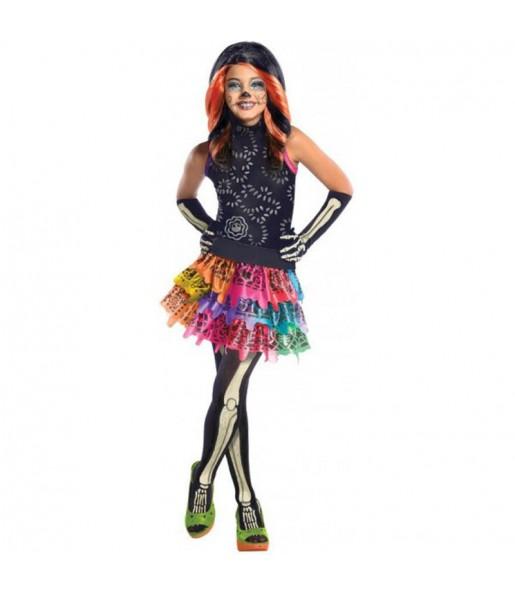 Disfraz Skelita Calaveras Monster High para niña