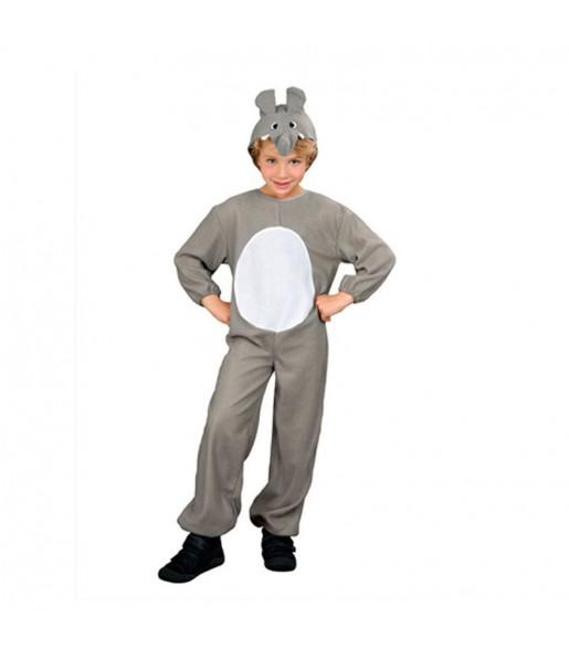 Disfraz de Elefante Gris infantil