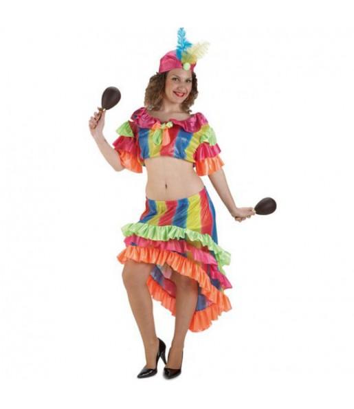 Disfraz de Rumbera mujer