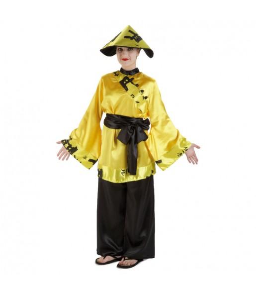 Disfraz de China Amarillo