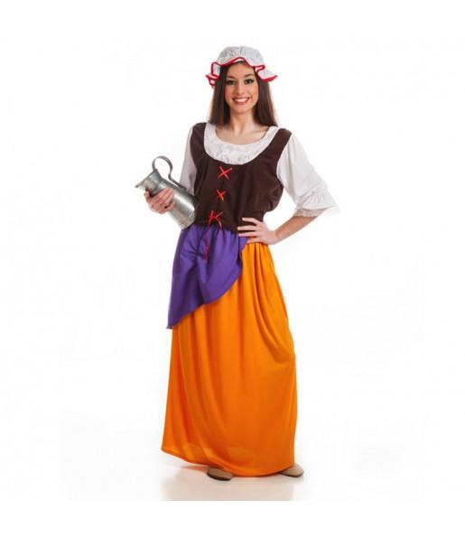 disfraz cantinera medieval adulto