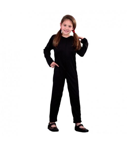 Disfraz Maillot negro chica